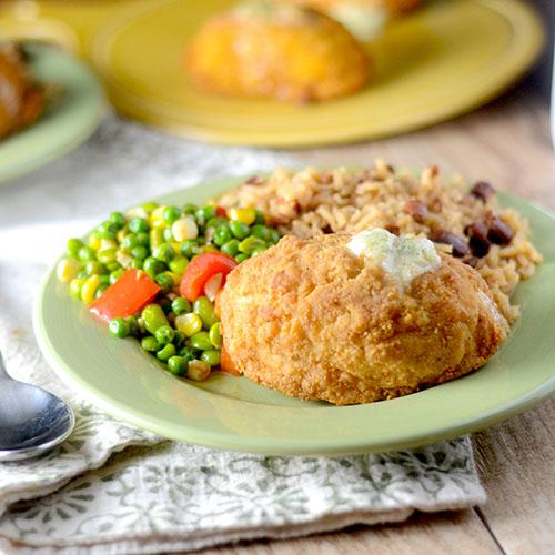 Barber Chicken & Creole Vegetables