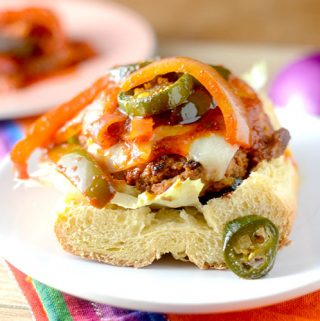 Skinny Fiesta Turkey Burger
