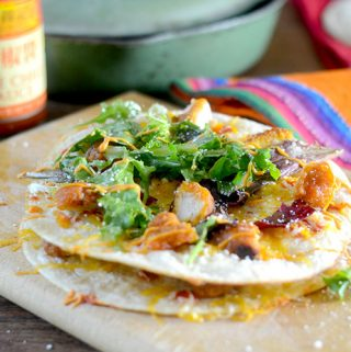 Sweet Chili Chicken Quesadillas