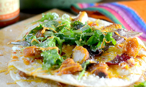 Home » appetizers » Sweet Chili Chicken Quesadillas