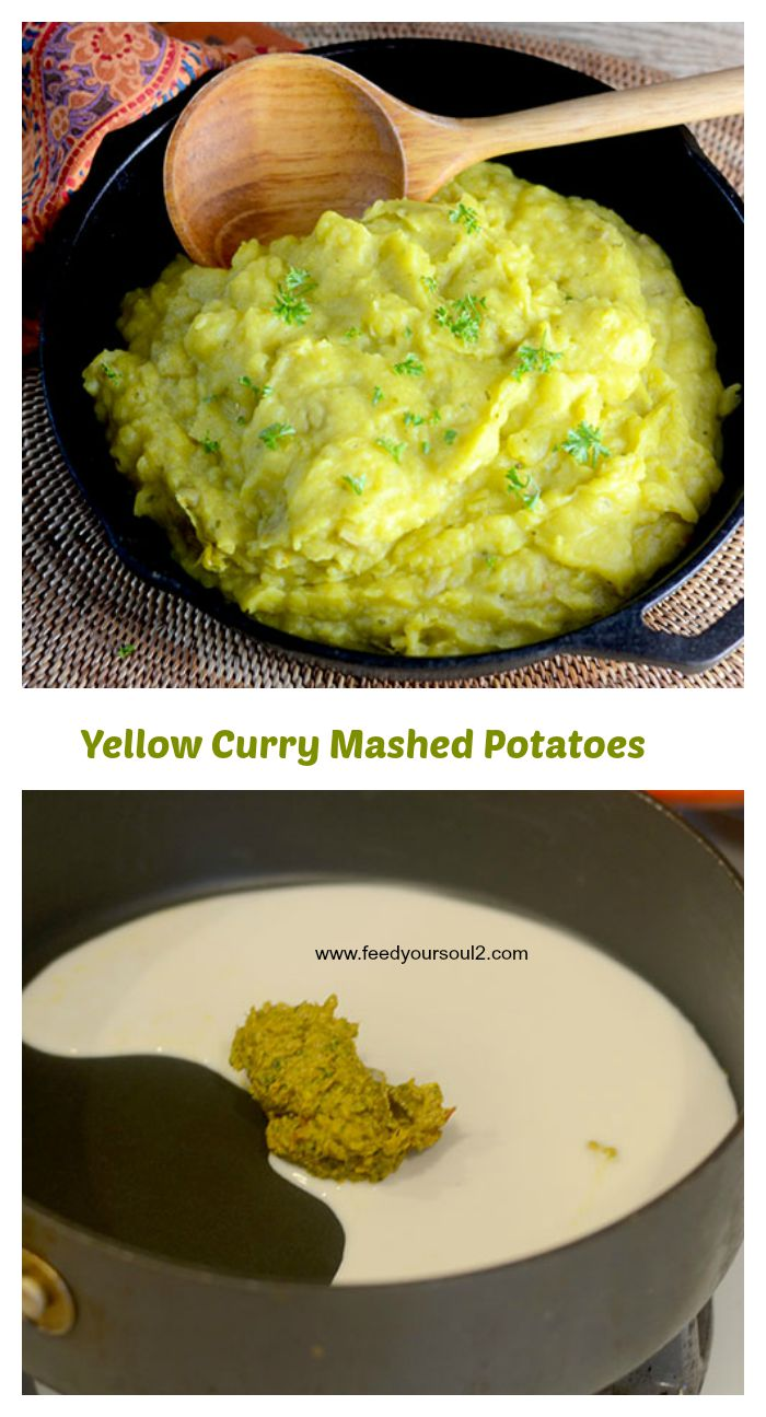 Yellow Curry Mashed Potatoes