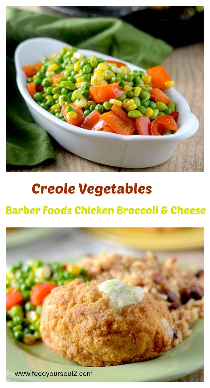 Barber Chicken & Creole Vegetables