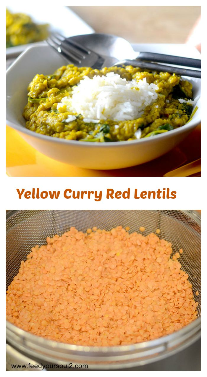Yellow Curry Red Lentils