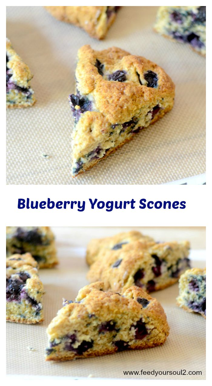 Blueberry Yogurt Scones