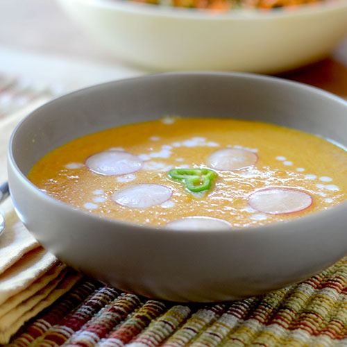 Curry Carrot Soup