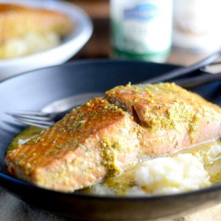 Mustard Salmon
