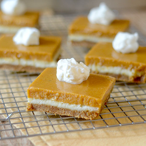 Pumpkin Layer Bars