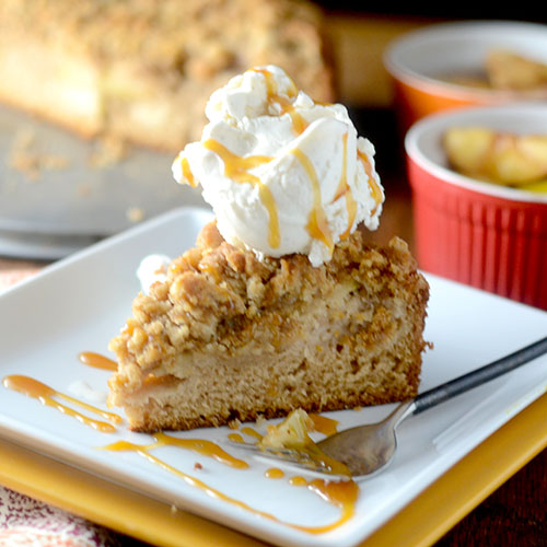 Apple Streusel Cake