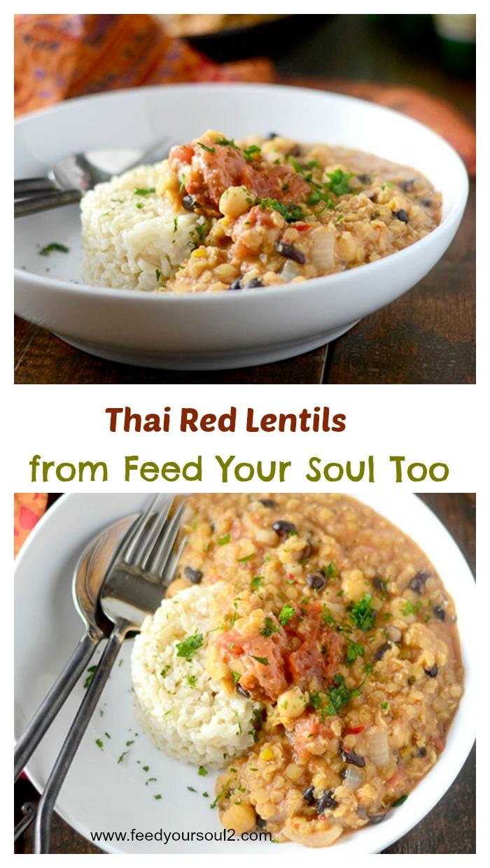 Thai Red Lentils
