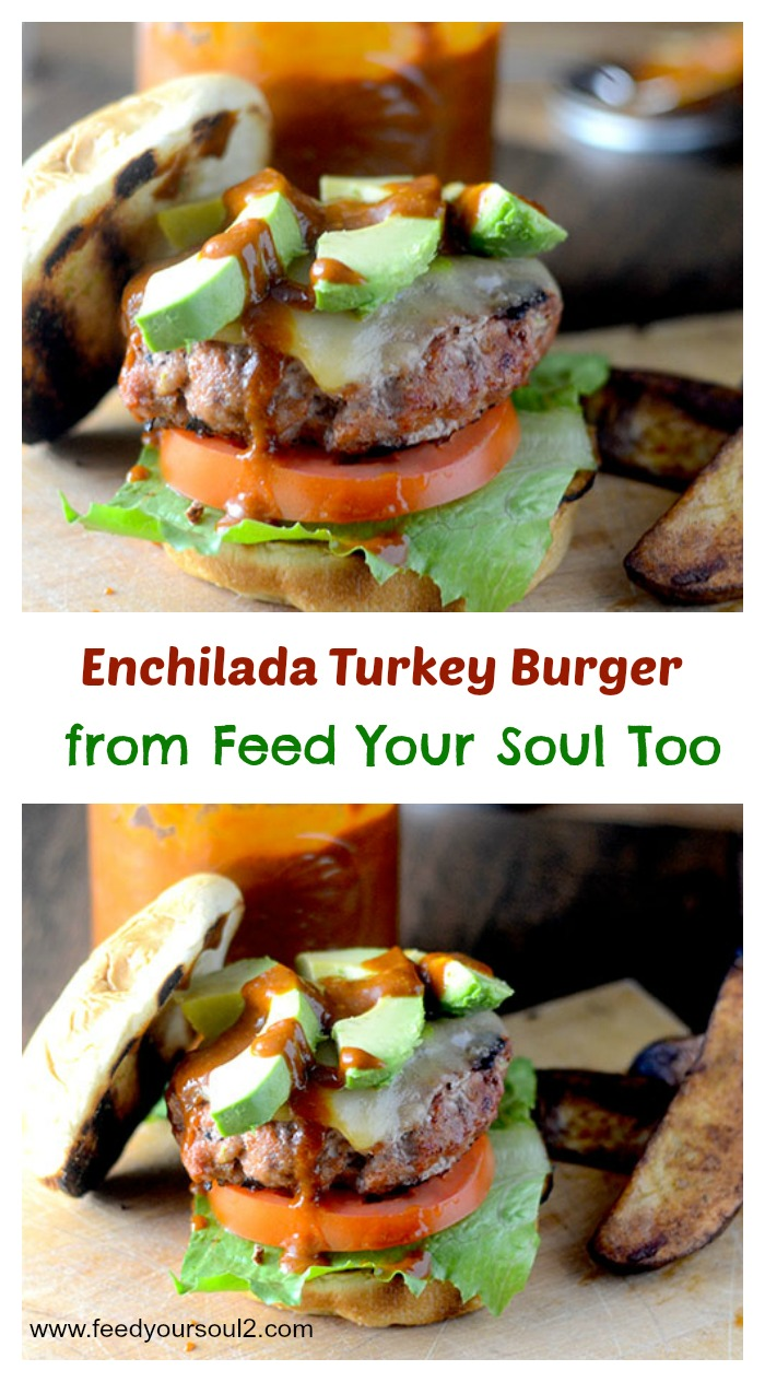 Enchilada Turkey Burger