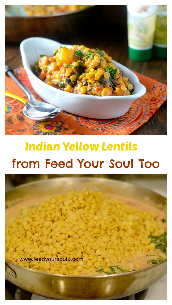 Indian Yellow Lentils