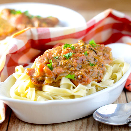 Italian Masala #pasta #masala #Italianfood | feedyoursoul2.com