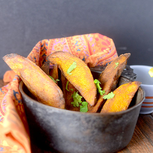 Indian Spiced Fries