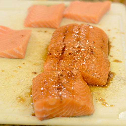 Salmon with Chipotle Marinade