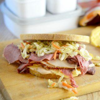 3 Meat Deli Sandwich