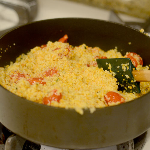 Cous Cous Added