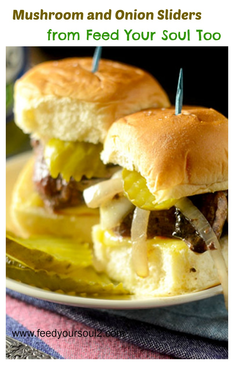 Mushroom and Onion Sliders