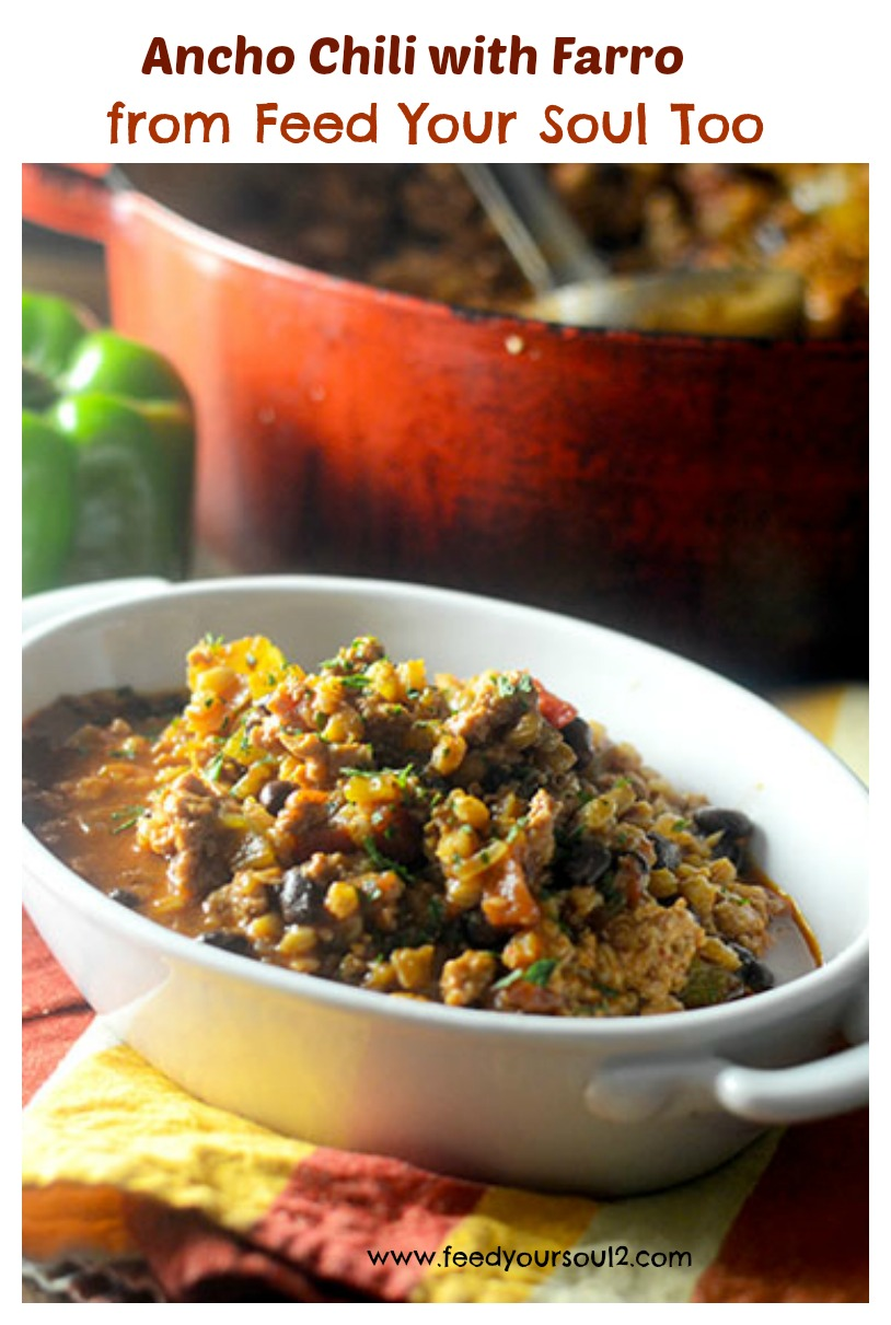 Ancho Chili with Farro