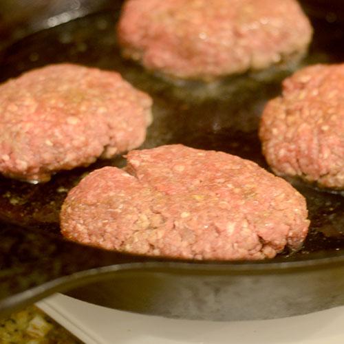 Burgers in Skillet