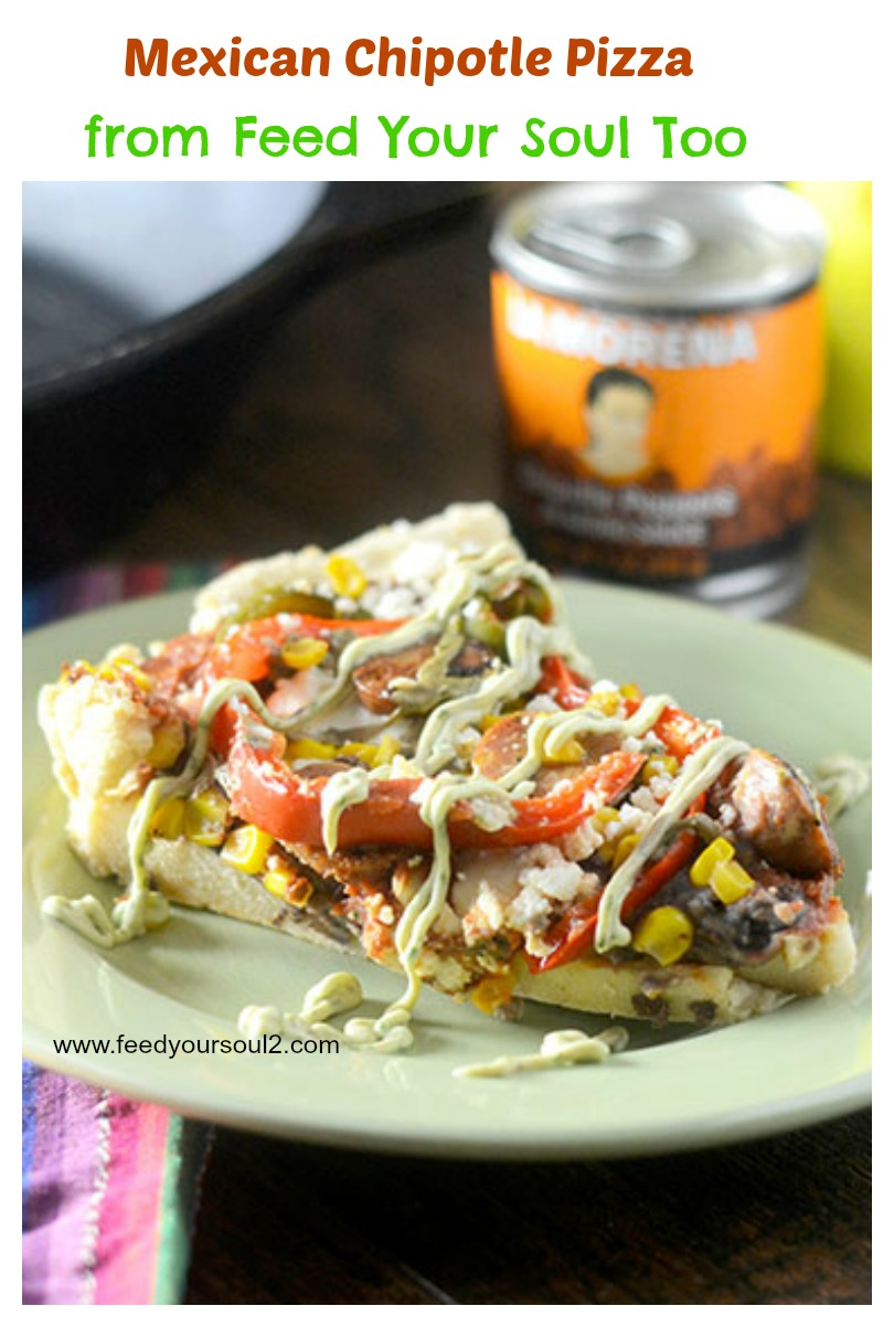 Mexican Chipotle Pizza