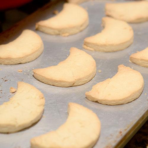 Shortbread Cookies Post-Bake