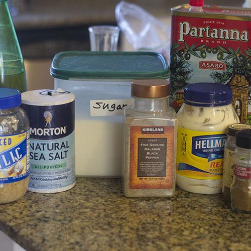 Slaw Ingredients