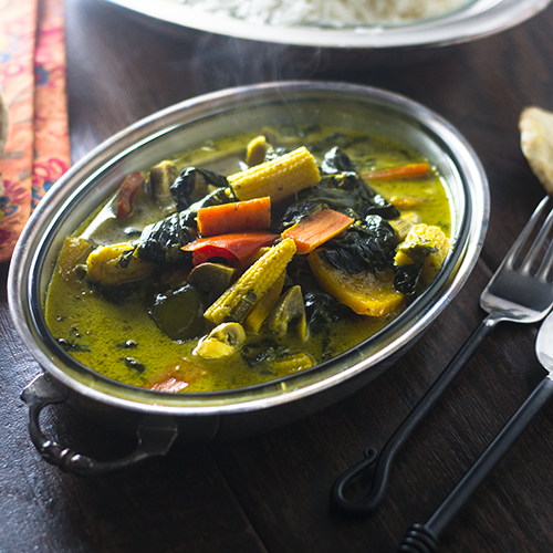 """Vegetable Curry #curry #vegetarian / feedyoursoul2.com"""