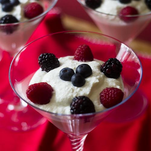 """Ricotta Dessert #ricotta #yogurt #dessert / feedyoursoul2.com"""