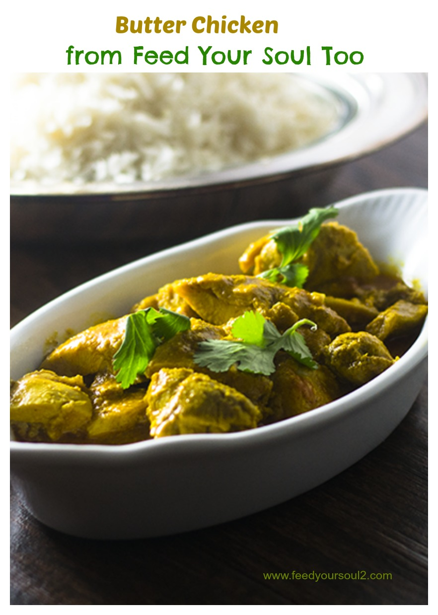 """Butter Chicken #curry #chicken / feedyoursoul2.com"""