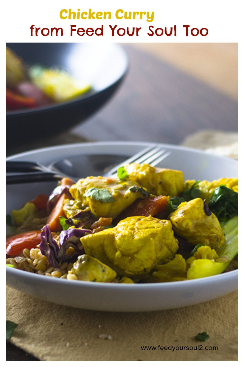 """Chicken Curry #curry #Indianfood #chickenrecipes / feedyoursoul2.com"""