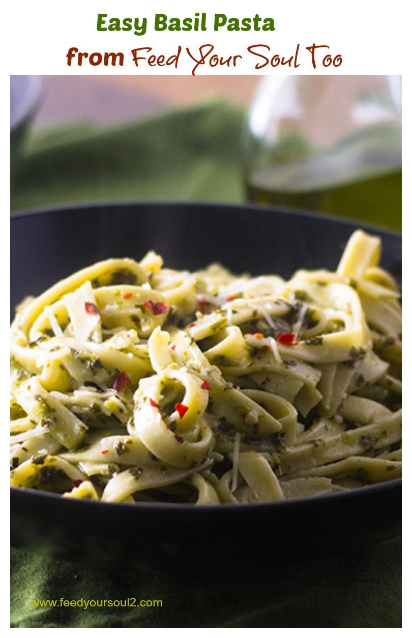 Easy Basil Pasta