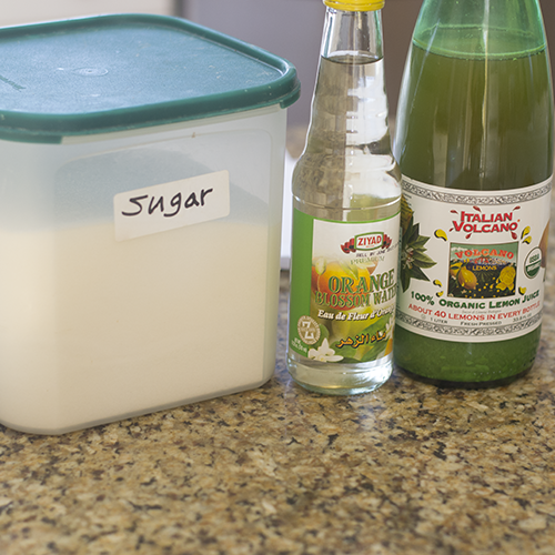 Simple Syrup Ingredients