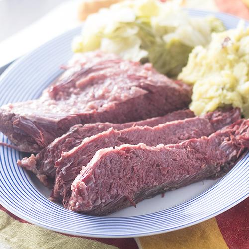 """Corned Beef & Cabbage #cornedbeef #cabbage #Stpatricksday / feedyoursoul2.com"""
