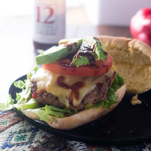 Mexican Turkey Burgers #turkeyburger #Mexican #sandwich | feedyoursoul2.com