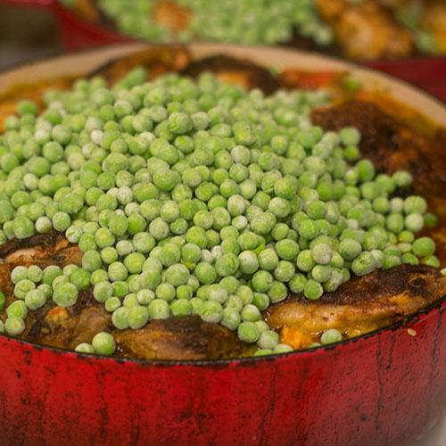 Peas Added