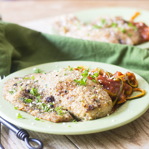 Parmesan Crusted Tilapia from Feed Your Soul Too