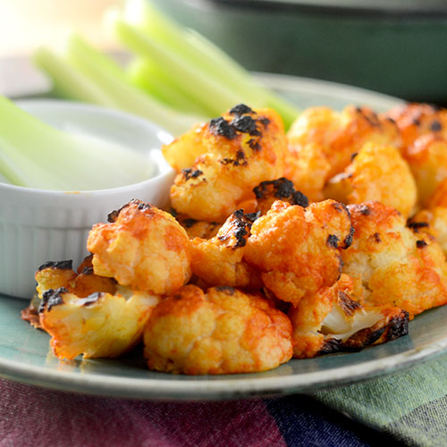 Buffalo Cauliflower from Feed Your Soul Too