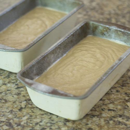 In Loaf Pans