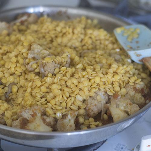 Lentils Added