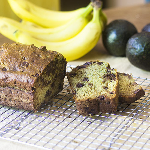 Avocado Banana Bread from Feed Your Soul Too