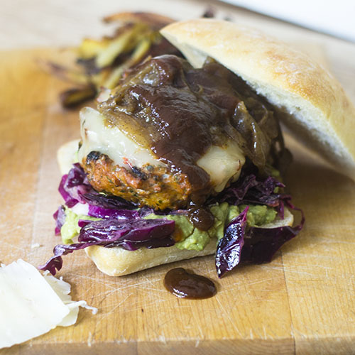 Mexican Paste Turkey Burger from Feed Your Soul Too