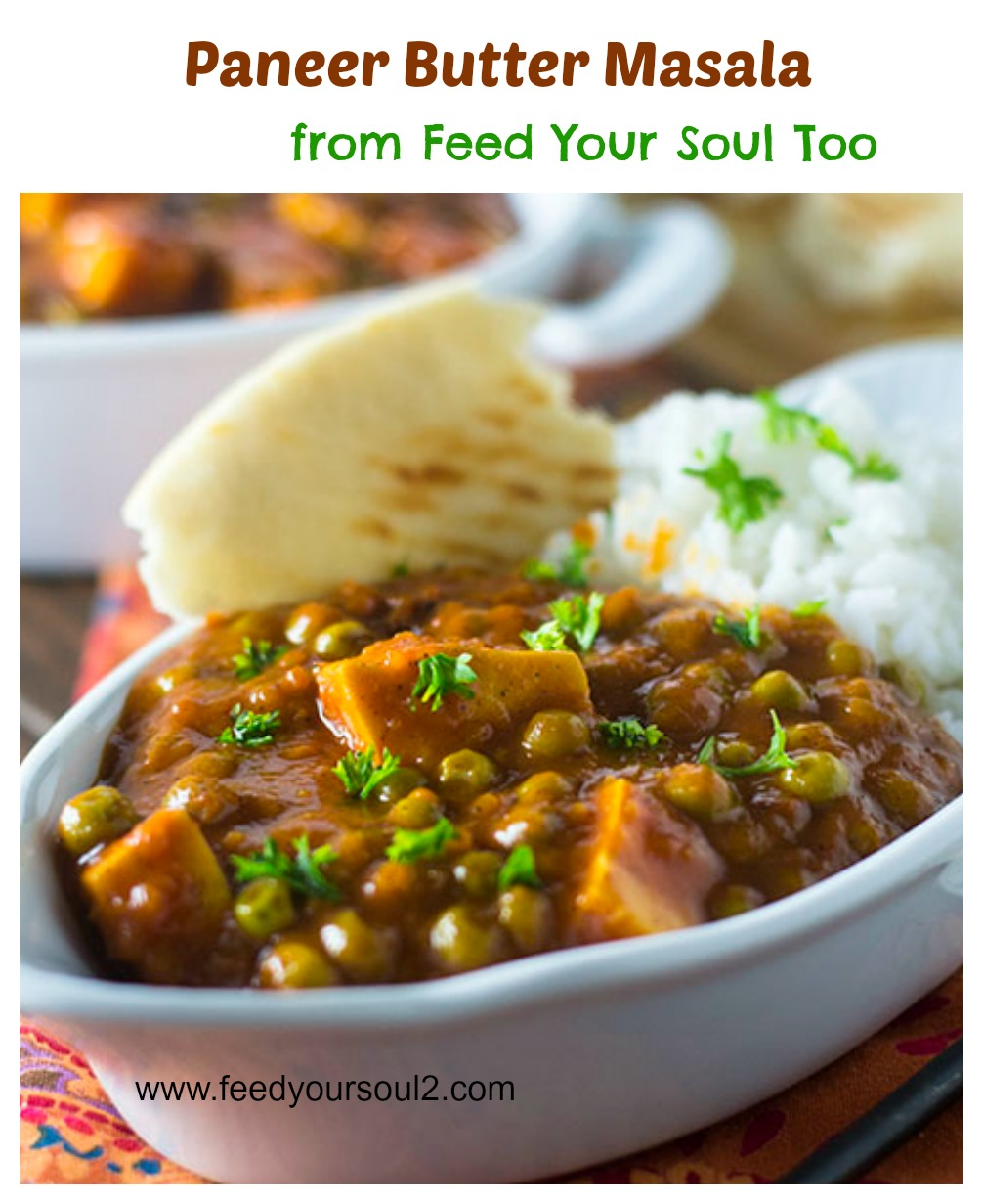Paneer Butter Masala #vegetarian #Indian #paneer | feedyoursoul2.com