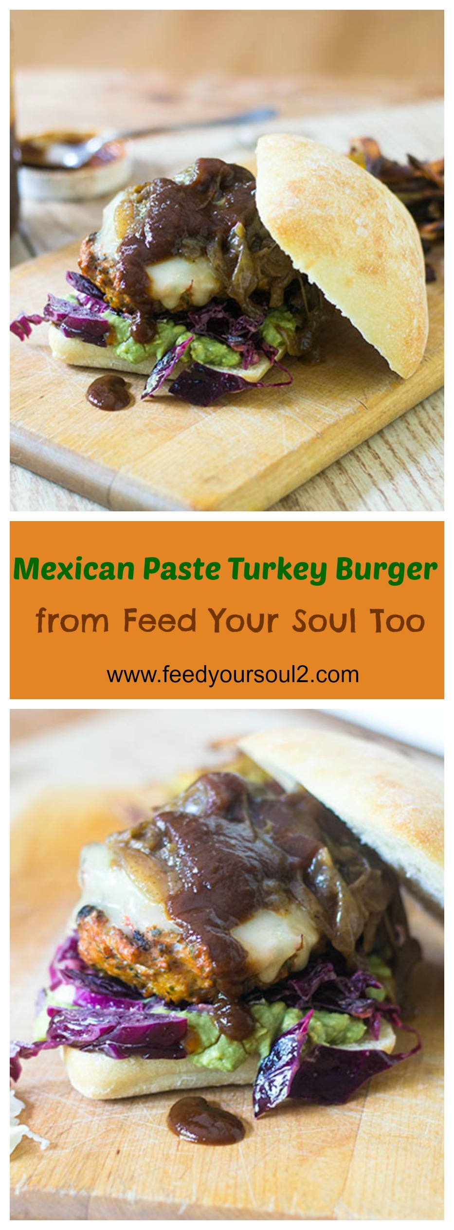 Mexican Paste Turkey Burger #burger #Mexicanfood #paste | feedyoursoul2.com