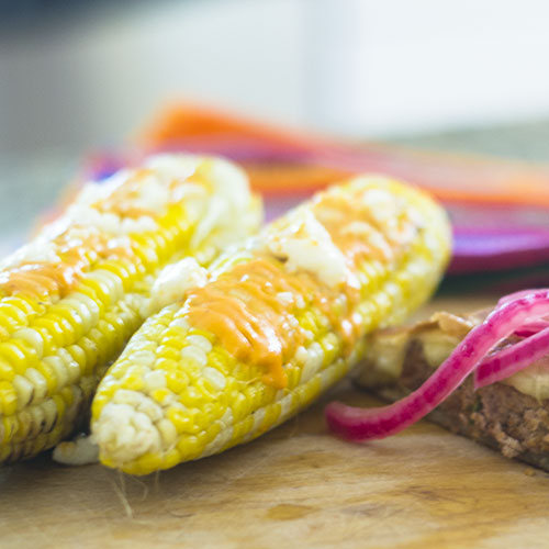 Mexican Corn on the Cob from Feed Your Soul Too