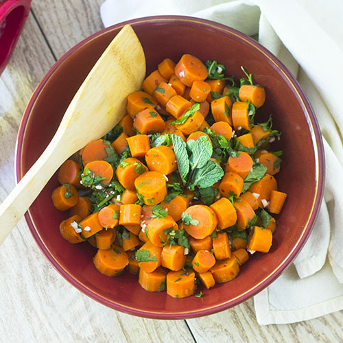 Moroccan Carrot Salad from Feed Your Soul Too