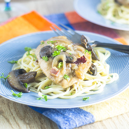 Kosher Chicken Marsala from Feed Your Soul Too