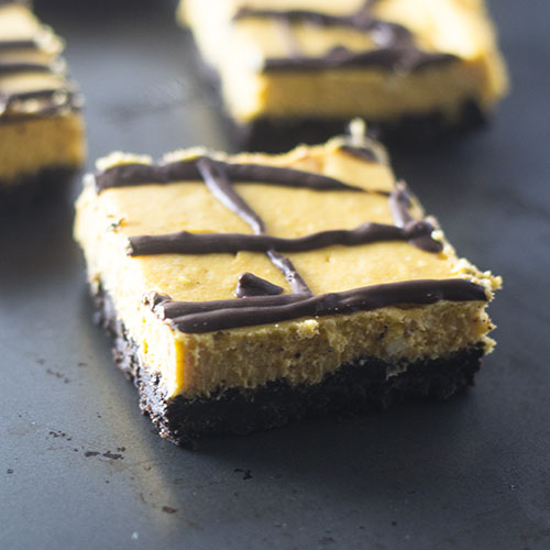 Oreo Pumpkin Layer Bars from Feed Your Soul Too