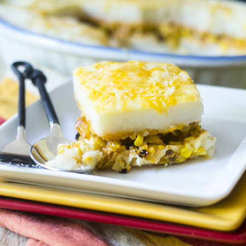 Layered Mashed Potatoes from Feed Your Soul Too