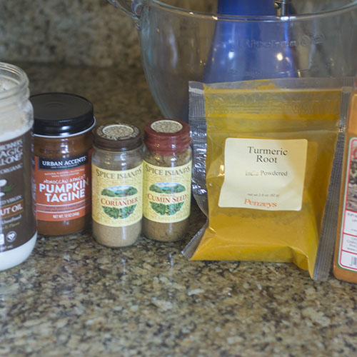 Sauce and Vegetable Spice Ingredients