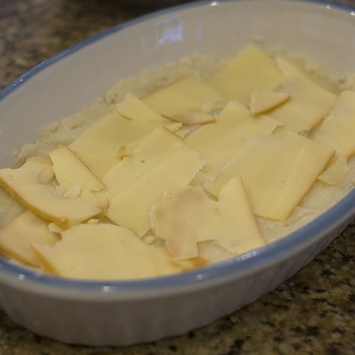 Smoked Gouda Added